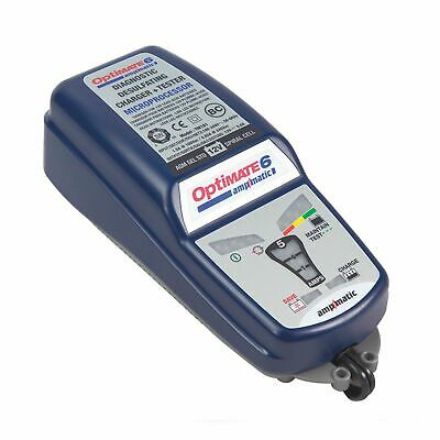 Optimate 6 Ampmatic 12V 5 Amp Motorcycle Motorbike Battery Charger/Optimiser