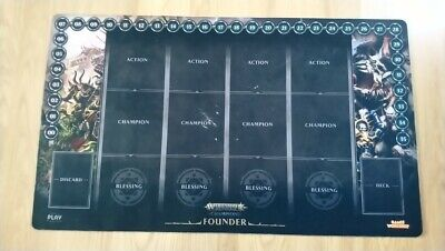 Warhammer Champions CCG AOS Founders playmat, actual pictures