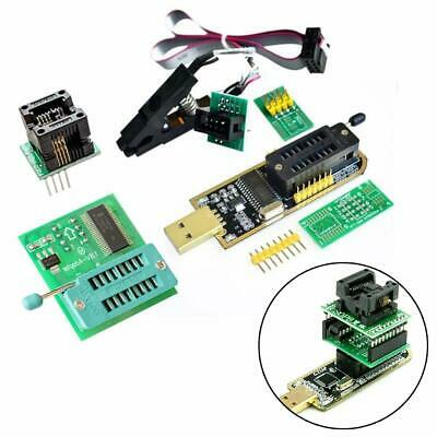 4in1 USB EEPROM BIOS CH341A + SOIC8 Clip + 1.8V Adapter + Adapter Kits  New