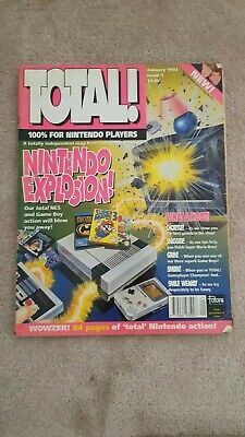 Total! Nintendo Computer Video Game magazine. ISSUE 1 Rare