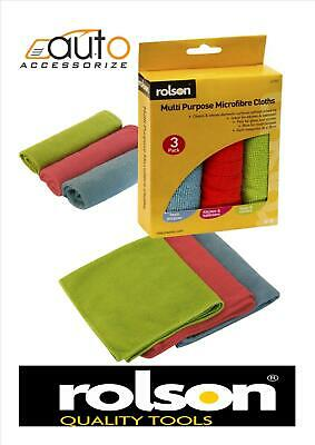 MULTI PURPOSE MICROFIBRE CLOTHS for house office colour coded