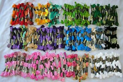 Lot 290 Skeins Dmc Embroidery Floss Thread