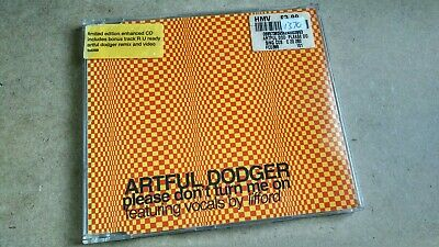 Artful Dodger Please Don't Turn Me On CD Single SOLD AS SEEN