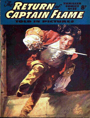 THRILLER COMICS / PICTURE LIBRARY No.28 - RETURN OF CAPTAIN FLAME  Facsimile