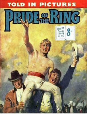 THRILLER COMICS / PICTURE LIBRARY No.53 - PRIDE OF THE RING  Facsimile