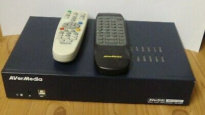 AVERMEDIA CCTV EB 1 304 MD Recorder Box with remotes & cables.