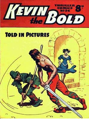 THRILLER COMICS / PICTURE LIBRARY No.24 - KEVIN THE BOLD  Facsimile