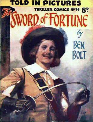 THRILLER COMICS / PICTURE LIBRARY No.34 - THE SWORD OF FORTUNE  Facsimile