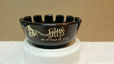 Vintage Ash Tray Jilly's Saloon New York City Rare Hard to Find Sinatra/Rat Pack