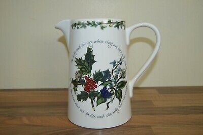 Portmeirion Holly & / and Ivy 3 Pint Bella Jug - New & Unused