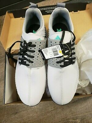 0361ea2b1c54d ADIDAS ADICROSS BOUNCE Golf Shoes Men s Spikeless F33752 White Black ...