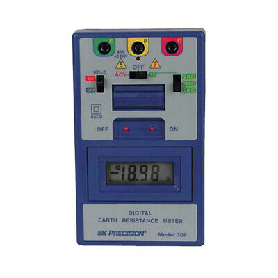 BK Precision 309 Digital Earth Resistance Meter
