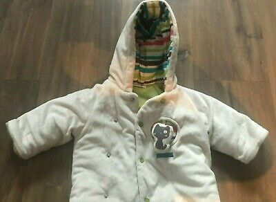 Sucre d'Orge French Designer Snowsuit Pram Suit size 3 months Coat & Trousers