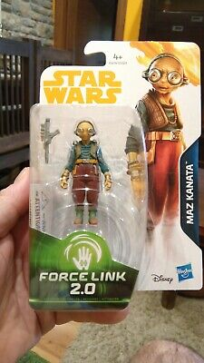 Maz Kanata figura Star Wars Force link 2.0 Chewbacca E1676/E0323