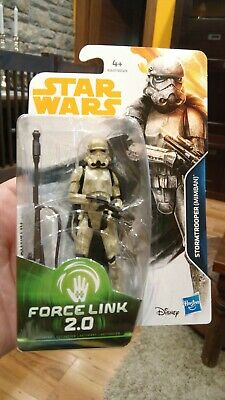 Stormtrooper (Mimban) figura Star Wars Force link 2.0 Chewbacca E1637/E0323