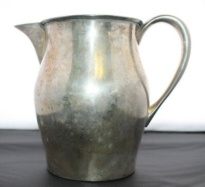 Vintage EPNS Silverplate Water Pitcher