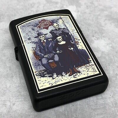 1996 Zippo Lighter - Dead Family Album - Stanley Mouse - Unfired