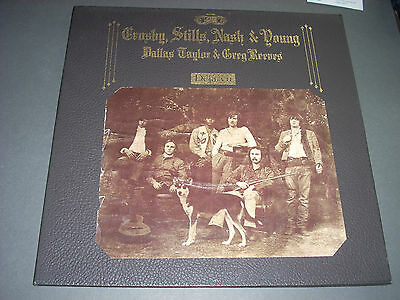 Crosby Stills Nash & Young DEJA VU LP Atlantic SD-7200 Textured Cvr 1841 Broadwa