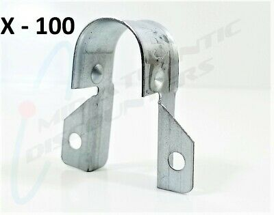"""100 Globe Pipe Hanger 625-206 Two Holes Stand-Off Strap for 3/4"""" CPVC"""
