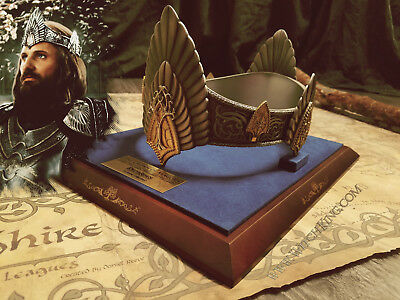 Officially Licensed Crown of Aragorn, Lord of the Rings, Return of the King LOTR
