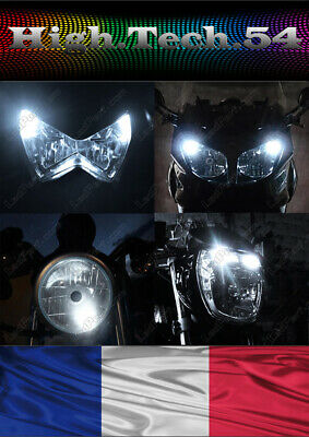 2 Ampoules à  LED blanc pour moto scooter Yamaha Tmax Xmax Majesty MT Aeorox