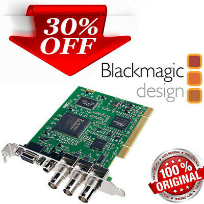 Blackmagic Design Decklink 10-bit SDI SD Video Capture PCI FinalCut Premiere