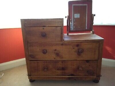 Pine Dressing Table / Chest of Drawers