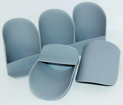 Tupperware Rocker Scoops set of 5 Silver Flour Sugar Dry Goods Pet Food + New