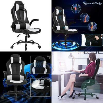 Bestmassage Office Desk Gaming Chair High Back Computer Task Swivel Executive Ra