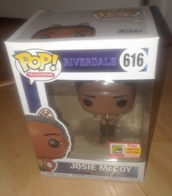 Riverdale Josie Mccoy 2018 SDCC comic con Limited Edition Exclusive FUNKO POP