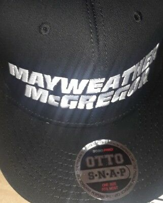 New Rare Floyd Mayweather Conor Mcgregor 8/26/17 Fight Vegas Boxing Event Hat
