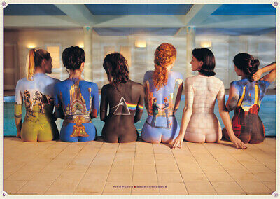 """PINK FLOYD laminated POSTER """"back catalogue"""" size 61cmX91.5cm LICENSED BRAND NEW"""