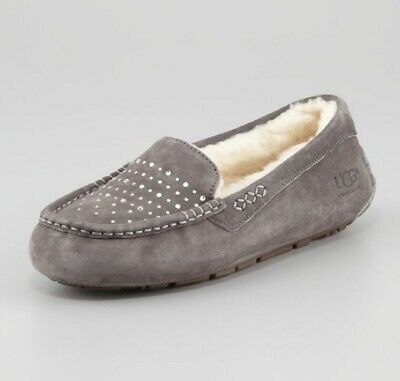 2837a62c615 AUTHENTIC UGG AUSTRALIA ANSLEY CRYSTAL DIAMOND Slippers Women's 11 ...
