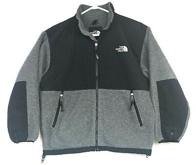 974ee71a50857 THE NORTH FACE Boys Denali Fleece Camo Jacket Coat 14-16 Large Gray ...