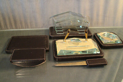 Necessary Office Leather Vintage Design 1930-1950 Sorter to Mail Fountain Pen