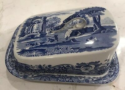 Spode Italian design C1816 U  covered cheese dish
