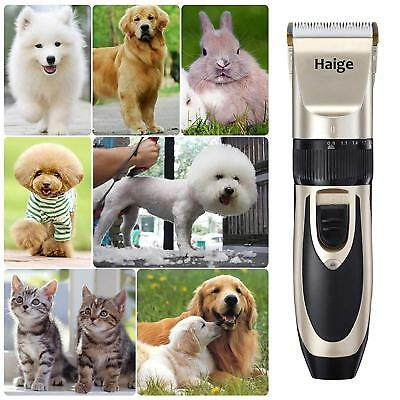 Professional Dog / Pet Grooming Trimmers. Rechargeable & Cordless Clippers....