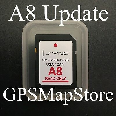 2015 2016 Ford Expedition Mustang Lincoln Navigator MKC Navigation SD Card Map
