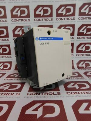 Telemecanique LC1F115 Contactor 175A 600VAC 3 Phase - No Coil - Used