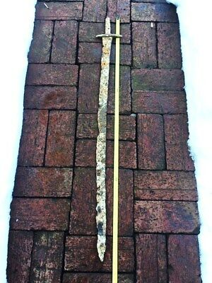 Very Rare 1200 years old pre Viking Antique Sword Turkish Khazarian Saber