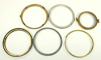 LOT of VINTAGE CLOCK BEZELS WITH NO GLASS - SP61