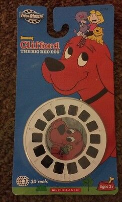 View Master Clifford The Big Red Dog 3 3d Reels 2400