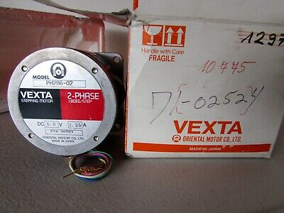 New Vexta Stepping Stepper Motor PH296-02 2-Phase Oriental Motor Japan