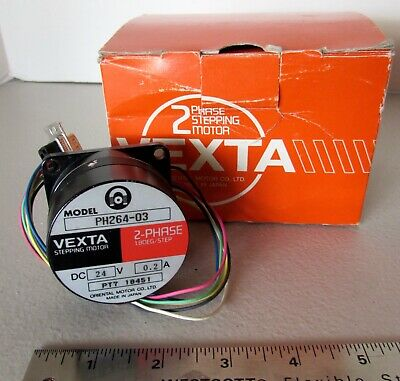 New Vexta Stepping Stepper Motor PH264-03 2-Phase Oriental Motor Japan