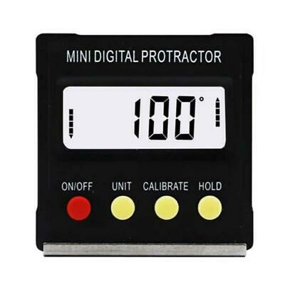 Mini Digital Inclinometer Level Box Protract Angle Finder Bevel Gauge Magnet NEW