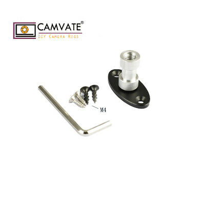 """CAMVATE Wall Table Ceiling Podium Mount 3/8""""-16 Female Thread mounted accessory"""