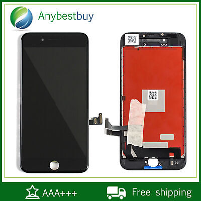 USA White Display LCD Touch Screen Digitizer Assembly Replace Parts For iPhone 8