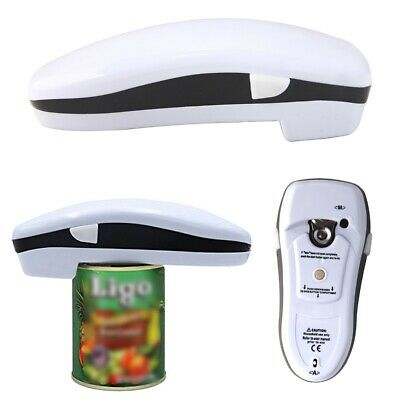 Automatic Electric One Touch Can Jar Tin Bottle Opener No Hands Battery Operated