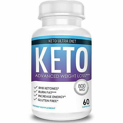 Keto Ultra Diet - Advanced Weight Loss - Ketosis Supplement  1 Month Supply