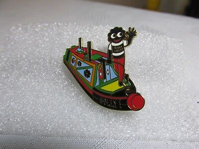 MUTTLEY CAPTAINS THE MUTTS NUTS CANAL NARROWBOAT BARGE CRUISER ENAMEL PIN BADGE